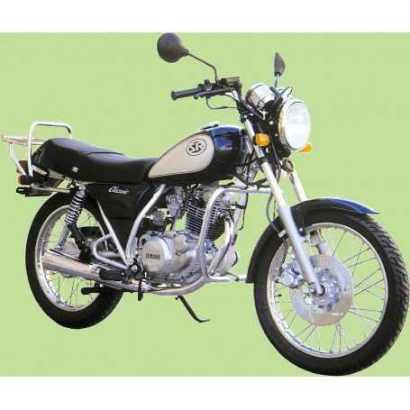 (110523) Protector De Motor (Defensa) Negro (Tubo diametro 30 Mm) Yamaha Sr 250 Cl