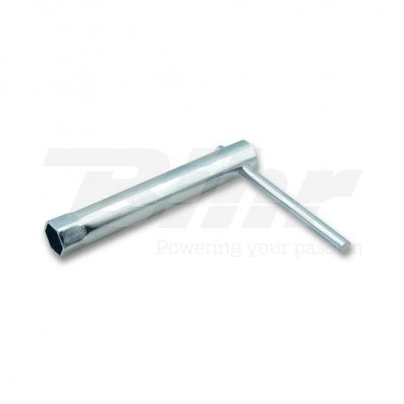 (478439) Llave bujia c/palanca. Hexagono 18 mm.