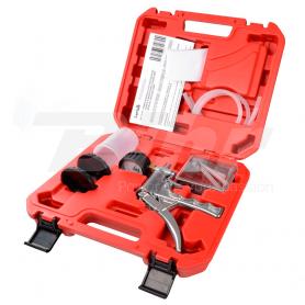 (478489) Aspirador manual de metal. Aspira, presuriza y mantiene el vacío aspirado