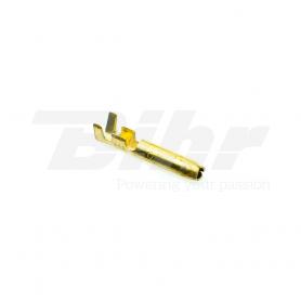 (478635) Bolsa 10 terminales eléctricos faston macho cilíndrico