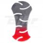 (479037) Protector de depósito carbono. Rojo