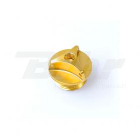 (479452) Tapon llenado de aceite Pro-Bolt BMW M24x2 Aluminio oro OFCB30G