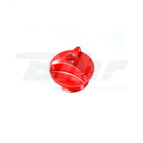 (479453) Tapon llenado de aceite Pro-Bolt BMW M24x2 Aluminio rojo OFCB30R