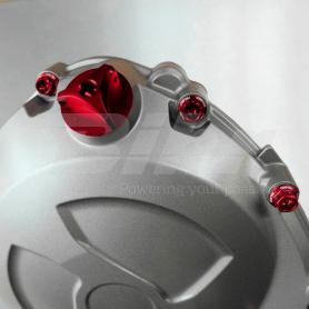 (479457) Tapon llenado de aceite Pro-Bolt Honda Aluminio rojo OFCH10R