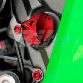 (479462) Tapon llenado de aceite Pro-Bolt Kawasaki Aluminio rojo OFCK10R