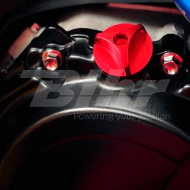 (479465) Tapon llenado de aceite Pro-Bolt Suzuki Aluminio rojo OFCS10R