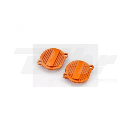 (479512) Tapa filtro de aceite naranja Ktm