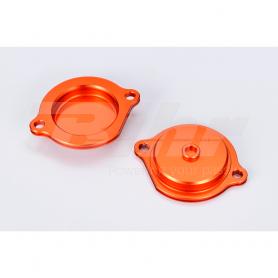 (479513) Tapa filtro de aceite naranja Ktm