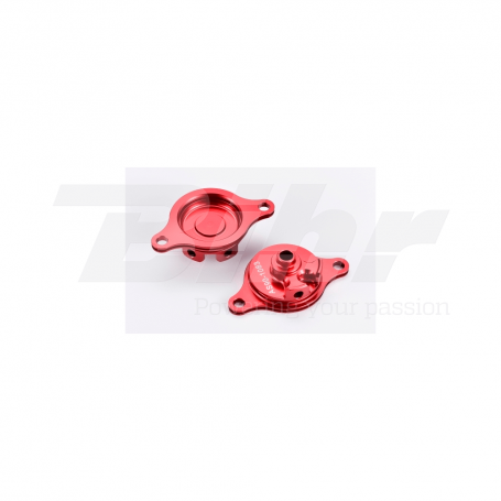 (479514) Tapa filtro de aceite rojo Honda