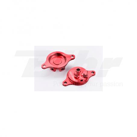 (479516) Tapa filtro de aceite rojo Honda