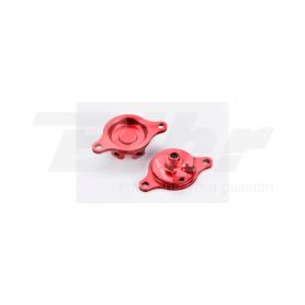 (479517) Tapa filtro de aceite rojo Honda