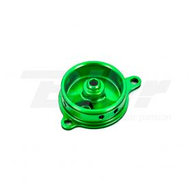 (479520) Tapa filtro de aceite verde Kawasaki