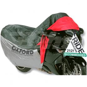 (479533) Funda de proteccion para motocicletas con bolsillo frontal T.L (183cm) Oxford OF924