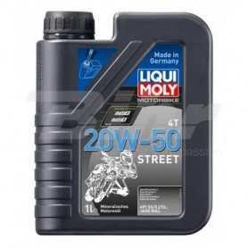 (485416) Aceite Liqui-Moly Motorbike 4T mineral 20W-50 Street 1500 1L.