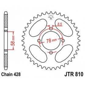 (491279) Corona JT 810 acero 46 dientes