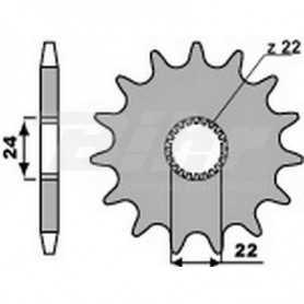 (491300) Piñon PBR 13 dientes para cadena paso 520 Aprilia 125 RS Replica