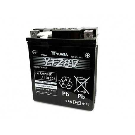 (499963) Bateria Yuasa YTZ8V cargada y activada