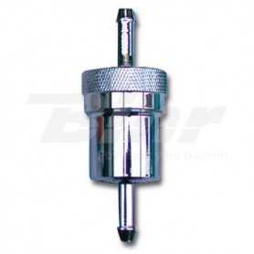 (548472) Filtro de gasolina BIHR aluminio anodizado desmontable 5/6mm L:75mm