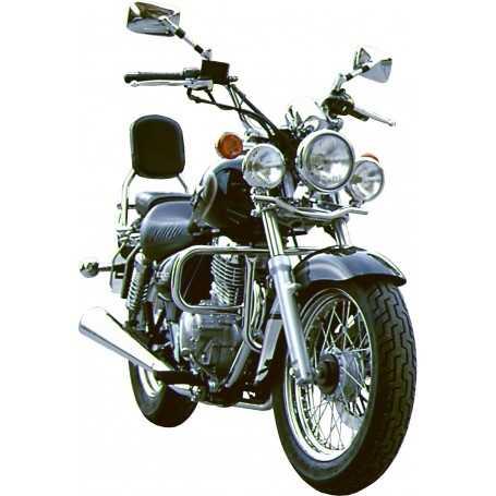 (110266) Protector De Motor (Defensa) Negro (Tubo diametro 25 Mm) Suzuki Marauder 125 (