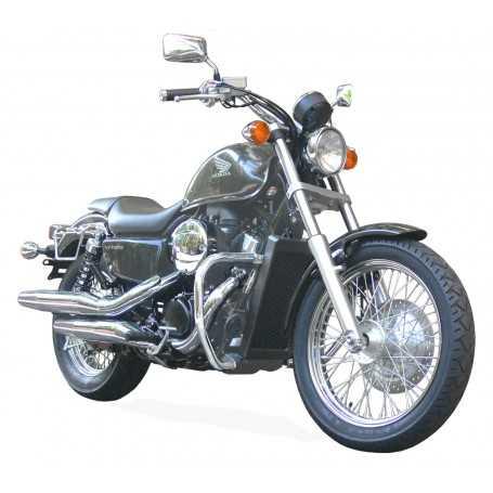 (54591) Protector De Motor (Defensa) Negro (Tubo diametro 30 Mm) Honda Vt 750 S Shado